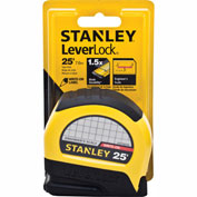 "Stanley®  Leverlock® STHT30759L Engineer'S Read Tape Rule 1"" X 25' Tape Measure"