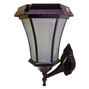 Solar Goes Green SGG-Coach-99-C-W Solar Wall Light, Wall Mount