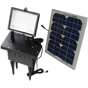 Solar Goes Green SGG-F108-3T - Solar Flood Light w/Remote Control and Timer
