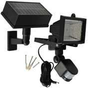 Solar Goes Green Solar Powered Motion Security Light SGG-PIR-54, Surface Mount, Outdoor, 6 Volt