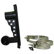 Solar Goes Green Pole Mounting Bracket SGG-PoleMT-S12, Outdoor, For Use W/SGG-S12 LED