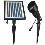 Solar Goes Green Solar LED Bright White Spot Light SGG-S12, Groud Mount, Outdoor