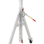 LUG-ALL Winch Hoist, Height Adjustment Kit for Spanco, Adjustable Height, Gantry Cranes 03-015
