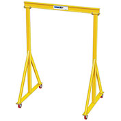 2 Ton, Spanco, Portable, Steel Gantry Crane, 11