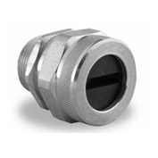Flat wire cable cord grip connectors, 4 conductor, #12 AWG cable (price is per pair)