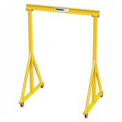 5 Ton Capacity, Portable, Spanco E-Series, Steel Gantry Crane, 12