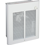 Berko® Small Room Fan-Forced Wall Heater SRA1512DSF, 1500W, 120V