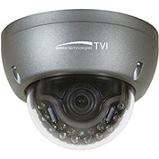 Speco HT5941T Intense IR HD-TVI Indoor/Outdoor Dome Camera, 1080p 2MP, 3.6mm Fixed Lens