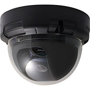 Speco VL644K 1000 TVL Color Indoor Dome Camera, 3.6mm Fixed Lens, Black Housing