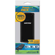 Rayovac® Power Pack Charger 2000 mAh, USB, Black
