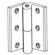 """Ul Template Spring Hinge 4-1/2"""" Stainless Steel - Pkg Qty 6"""