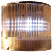 Springer Controls / Texelco LA-39-30 70mm Stack Light, Strobe, 240V AC/DC Xenon BULB - Clear