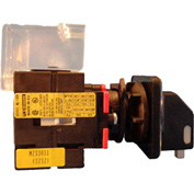 Springer Controls/MERZ ML1-025-CB2, 25A,3-Pole, Disconnect Switch, Black/Grey, Center-Mount, Lockout