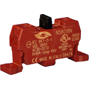 Springer Controls N5B01BN, Contact Block-Normally Closed-for N5 series-Base Mount