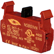 Springer Controls N5B01VN, Contact Block-Normally Closed-for N5 series push buttons