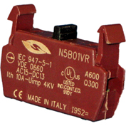 Springer Controls N5B01VR, Contact Block- Normally Closed Late Break-for N5 series push buttons