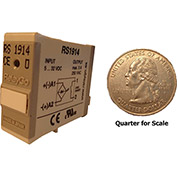 RelayGo RS1914, Solid State Relay, 3A Switch, 24-250 V AC, Normally Open, Resistive Load, 5-Blade