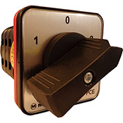 Springer Controls / MERZ W251/3-AB, Reversing Switch, Maintained, 3-Pole, 25A, 4-hole front-mount