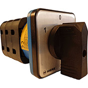 Springer Controls / MERZ W451/3-AB, Reversing Switch, Maintained, 3-Pole, 40A, 4-hole front-mount
