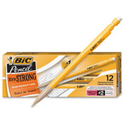 BIC Student's Choice Mechanical Pencil, #2 Pencil, 0.9 mm Lead Size, Black Lead, 12/Dozen