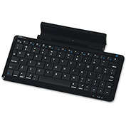 Compucessory 50915 Bluetooth Keyboard and Stand Combo for iPad or Tablet