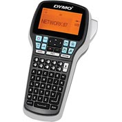 Dymo Electronic Label Maker, DYM1768815, Black & Silver, Tape Print Media
