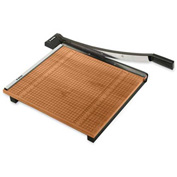"""X-ACTO® Commercial Grade Square Guillotine Paper Trimmer, 18"""" Cutting Length, Brown"""