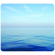 "Fellowes® Mouse Pad, 5903901, Nonslip Back, 9"" X 8"" X 11/16"", Ocean"