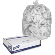 "Genuine Joe High Density Can Liners, 56 Gal, 43""X48, Clear, 200/Pk, GJO01760, 0.63 Mil"