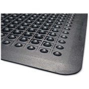 "Genuine Joe Flex Step Anti-Fatigue Mat 36""L X 24""W Black - GJO02146"