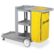 Genuine Joe Workhorse Janitor's Cart - GJO02342