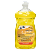 Genuine Joe Dishwashing Liquid, 28 Oz., Lemon Scent - GJO10358