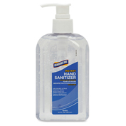 Genuine Joe Hand Gel Sanitizer, 8.5 fl oz. Pump Bottle, 24/Case - GJO10450CT