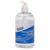 Genuine Joe Hand Gel Sanitizer, 16 fl oz. Pump Bottle, 12/Case - GJO10451CT