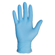 ProGuard Powder Free Industrial Nitrile Gloves, 4 mil, XXL, Blue, 100/Box