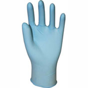 Genuine Joe Powder Free Industrial Latex Gloves, 14 mil, XL, Dark Blue, 50/Box