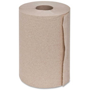 "Genuine Joe Hardwound Roll Towel, 2"" Core, 350 Ft, 12Rolls/CT, Natural - GJO22200"