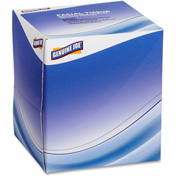 Genuine Joe Facial Tissue 2 Ply Cube 85 Tissues/Box 36 Boxes/Case White - GJO26085