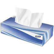Genuine Joe 2 Ply Facial Tissue, 30CT, White - GJO26100