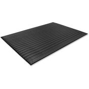 "Genuine Joe Air Step Anti-Fatigue Mat 60""L X 36""W Black - GJO53351"