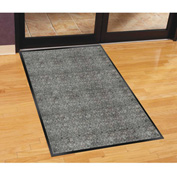 "Genuine Joe Silver Series Walk-Off Indoor Mat 60""L X 36""W Salt Pepper - GJO56352"