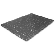 "Genuine Joe Marble Top Anti-Fatigue Mat 60""L X 36""W Gray Marble - GJO58840"