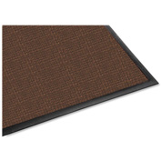 "Genuine Joe Waterguard Indoor/Outdoor Mat 72""L X 48""W Brown - GJO58843"