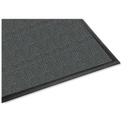 "Genuine Joe Waterguard Indoor/Outdoor Mat 60""L X 36""W Charcoal Gray - GJO59473"