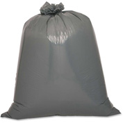 "Genuine Joe Trash Can Liner, 55 Gal, 1.70 Mil, 39""x56"", Black, 50/Pk, GJO70343"