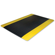 "Genuine Joe Safe Step Anti-Fatigue Mat 36""L X 24""W Black - GJO70363"