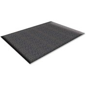 "Genuine Joe Soft Step Anti-Fatigue Mat 60""L X 36""W Black - GJO70372"