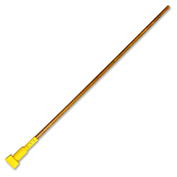 "Genuine Joe 60"" Jaw Style Mop Handle, Plastic/Wood, Natural - GJO80360"