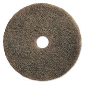 "Genuine Joe 27"" UHS Natural Fibers Pad, Natural, 5/Case - GJO92127"