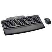 "Kensington® Keyboard/Mouse Combo, 72403, Wireless, 17-3/4"" X 10-1/4"" X 1"", Black"